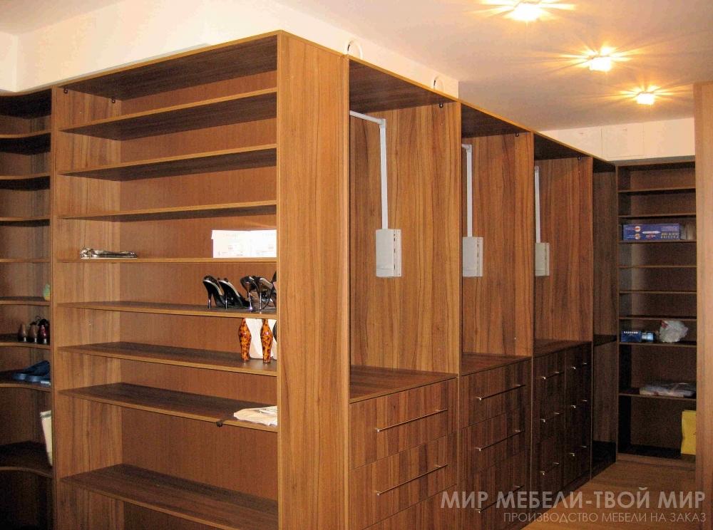 Гардеробные комнаты на заказ - изготовление недорогой гардер.